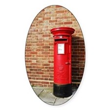 British postbox Decal