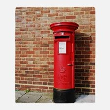 British postbox Throw Blanket