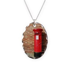 British postbox Necklace
