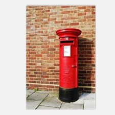 British postbox Postcards (Package of 8)