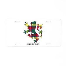 Lion - Buchanan Aluminum License Plate