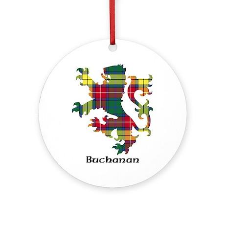 Lion - Buchanan Ornament (Round)