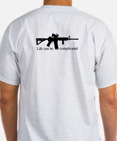 AR-15 - Life Can Be Complicated - Back Design