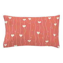 Cute Hearts Pillow Case