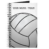Volleyball Journals & Spiral Notebooks