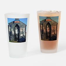 John Lennon Mural, Liverpool UK Drinking Glass