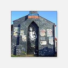 "John Lennon Mural, Liverpoo Square Sticker 3"" x 3"""