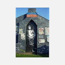 John Lennon Mural, Liverpool UK Rectangle Magnet