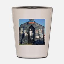 John Lennon Mural, Liverpool UK Shot Glass