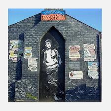 John Lennon Mural, Liverpool UK Tile Coaster