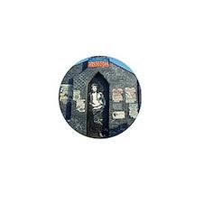 John Lennon Mural, Liverpool UK Mini Button