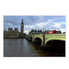 westminster  Bridge & Big Postcards (Package of 8)