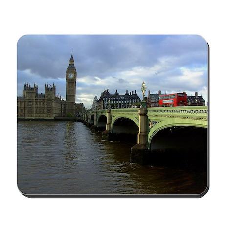 westminster Bridge & Big Ben, London UK Mousepad
