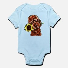 Sunny Chocolate Labrodoodle Body Suit