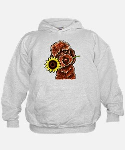 Sunny Chocolate Labrodoodle Hoodie