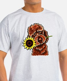 Sunny Chocolate Labrodoodle T-Shirt