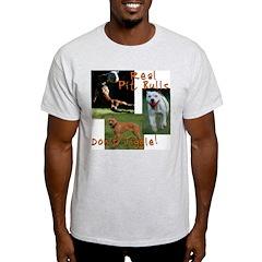 PitBullTalk Ash Grey T-Shirt