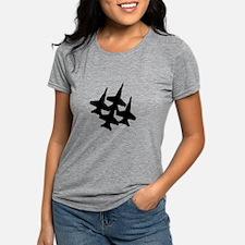 Funny Blue angels Womens Tri-blend T-Shirt