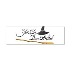 Yes I do drive a stick Car Magnet 10 x 3