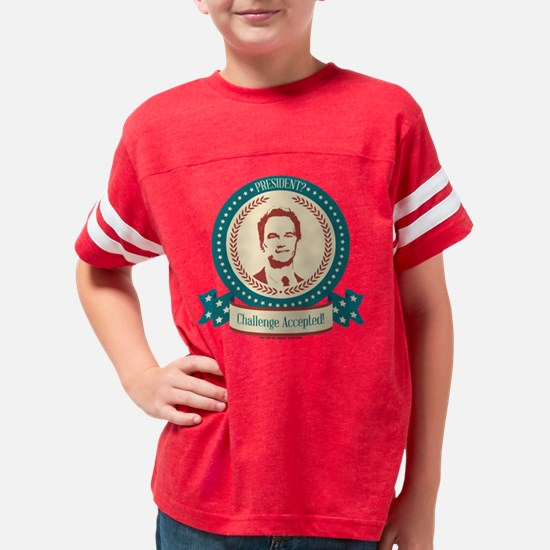 HIMYM Challenge Accepted Youth Football Shirt