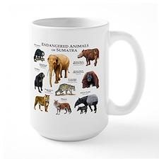 Endangered Animals of Sumatra Mug