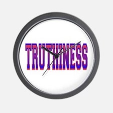 Truthiness Wall Clock