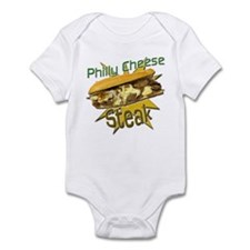Philly Cheese Steak Infant Bodysuit