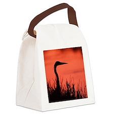 heron Canvas Lunch Bag