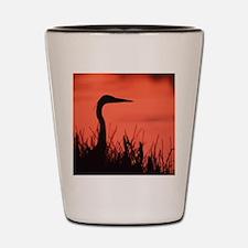 heron Shot Glass