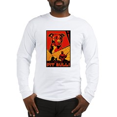 Obey the Pit Bull! 2-sided Long Sleeve T-Shirt