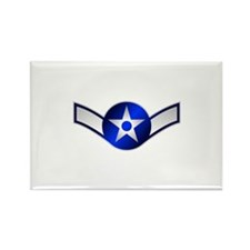 Air Force Airman Rectangle Magnet