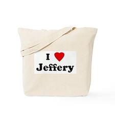 I Love Jeffery Tote Bag