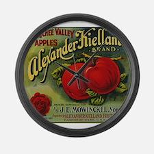 Vintage Fruit Vegetable Crate Label Large Wall Clo