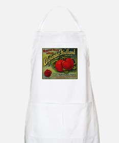 Vintage Fruit Vegetable Crate Label Apron