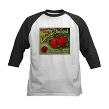 Vintage Fruit Vegetable Crate Label Baseball Jerse