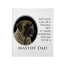 Mastiff Dad Throw Blanket