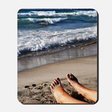 Relaxing feet Mousepad