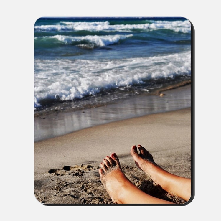 Relaxing feet Mousepad