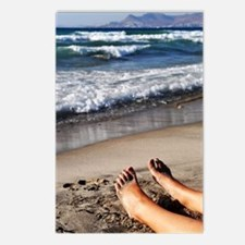 Relaxing feet Postcards (Package of 8)
