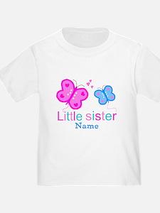 Little Sister Butterfly T-Shirt
