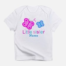 Little Sister Butterfly Infant T-Shirt