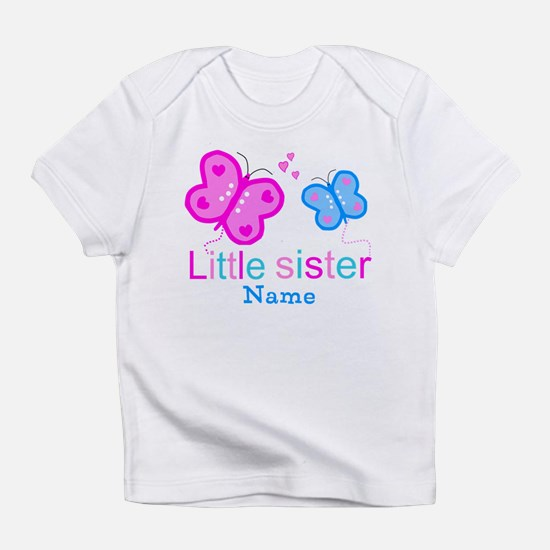 Little Sister Butterfly Infant T-Shirt