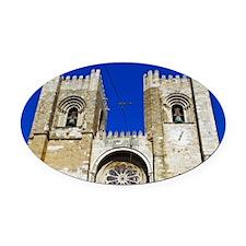 Se Cathedral Oval Car Magnet