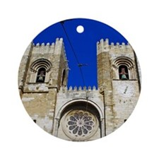 Se Cathedral Round Ornament