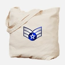 Air Force Senior Airman Tote Bag