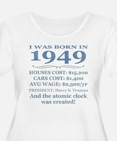 Birthday Facts-1949 Plus Size T-Shirt