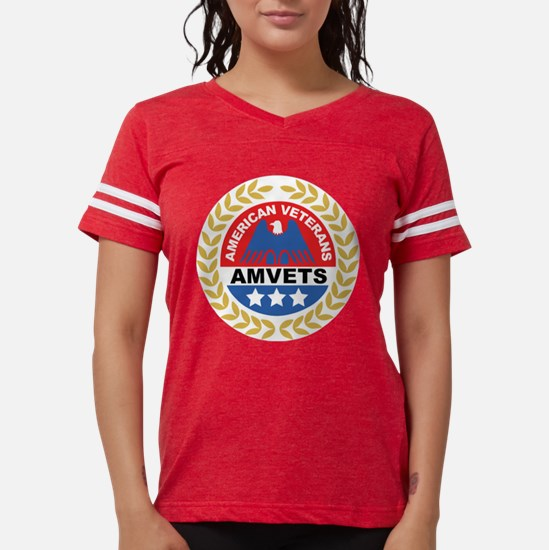 amvets t Womens Football Shirt