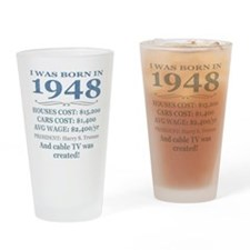 Birthday Facts-1948 Drinking Glass