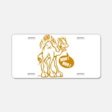 Hump Day Aluminum License Plate