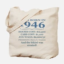 Birthday Facts-1946 Tote Bag
